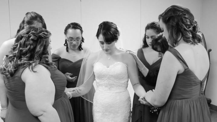 FRANCESCA + KYLE | Fairytale ChurchWedding